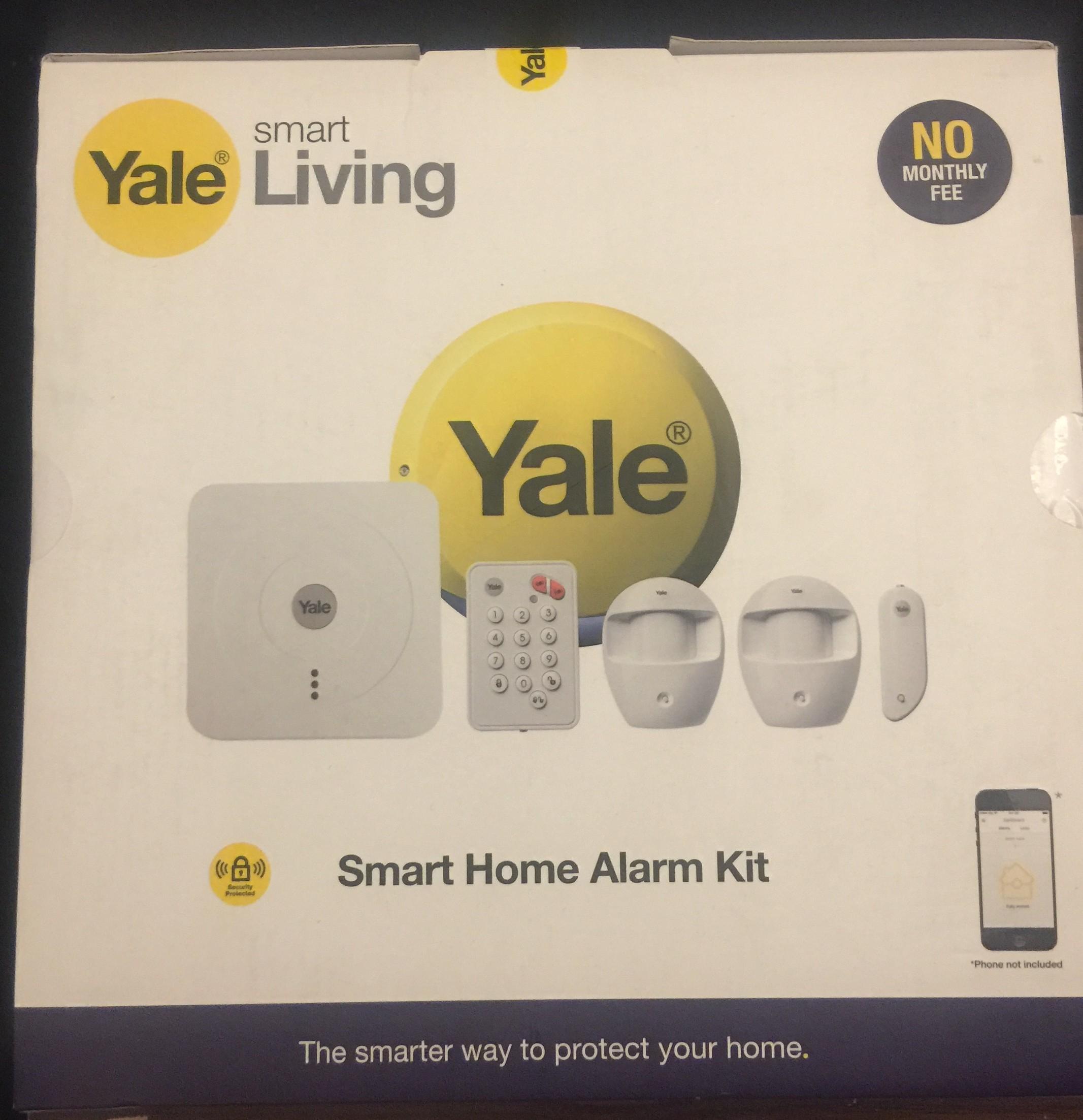 Yale Smart Home Alarm Kit £94.50 @ Homebase Instore only
