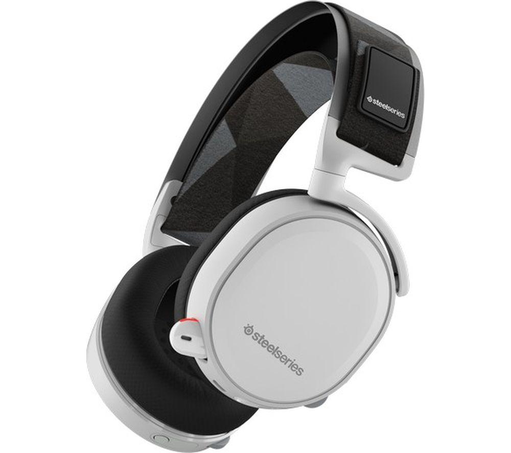 STEELSERIES Arctis 7 Wireless 7.1 Gaming Headset - White £99.97 @ PCWorld