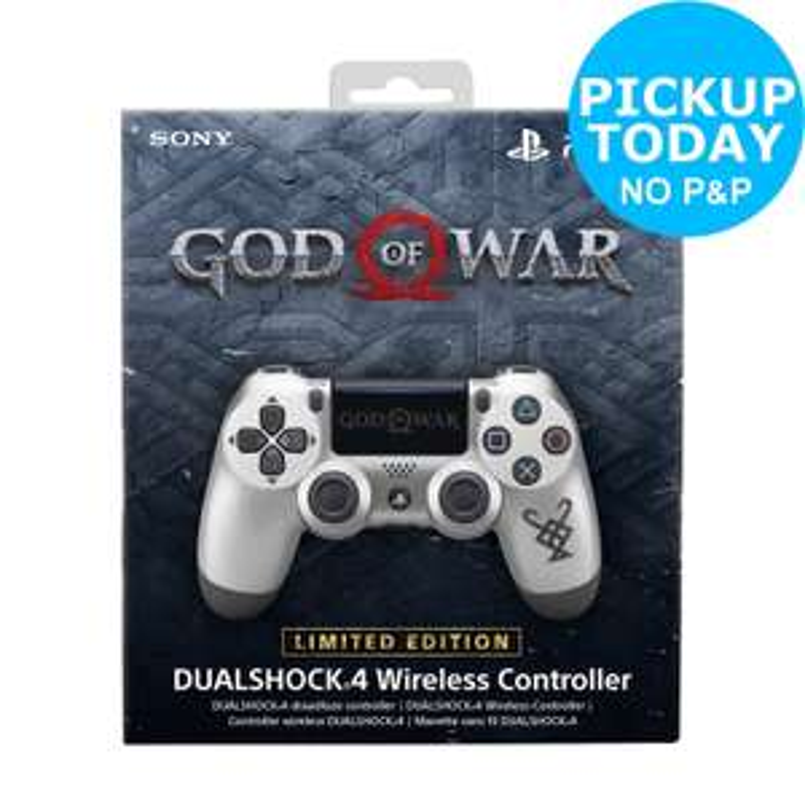 Limited Edition God of War PS4 Dualshock 4 Controller - £35.99 - eBay/Argos (Argos)