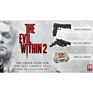 The Evil Within 2 PS4 £10 C+C @ Smyths
