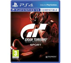 GRAN TURISMO SPORT *NEW* [PS4] £14.97 incl. DELIVERY at Currys