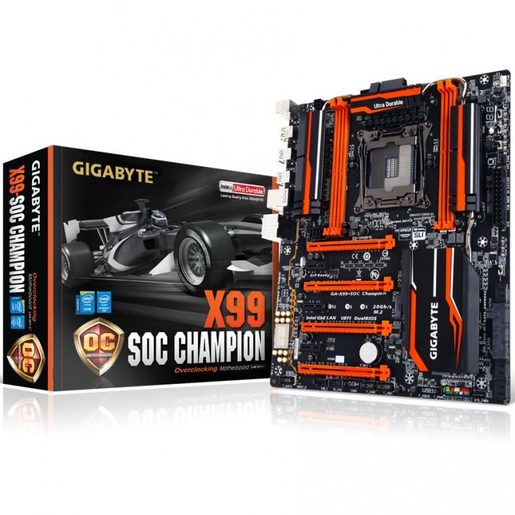 X99 SOC CHAMPION INTEL X99 (SOCKET 2011) DDR4 EATX MOTHERBOARD - £100 at  Overclockers