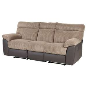 Dorset Reclining Sofa £299.50 + £25 delivery at Tesco