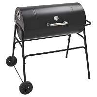 Expert Grill 75cm Barrel Grill with Warming Rack & Lid now £39 C+C @ Asda George