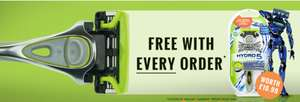 Free WILKINSON SWORD HYDRO 5 Sensitive Razor with Every Order + delivery £1.99 @The Gift and Gadget store