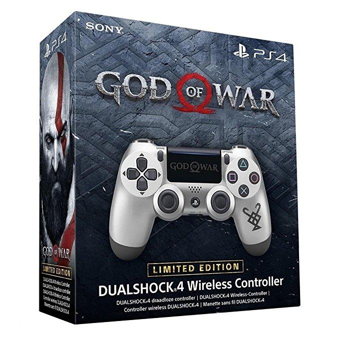 PlayStation Dualshock 4 Controller - God of War £35.99 // Midnight Blue, Black, Blue £34.99 @ Amazon