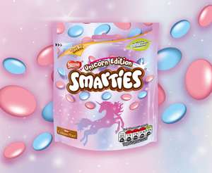 Limited edition unicorn Smarties out next week £1 @ Asda