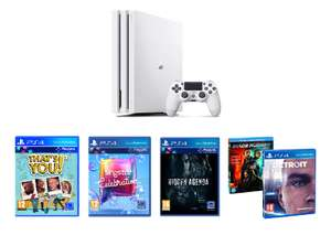 PS4 Pro White 1TB Console + Detroit: Become Human & Singstar Celebration & Hidden Agenda + That's You £349.85 Delivered @ Shopto