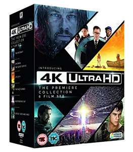 4k Ultra Hd - The Premiere Collection - 6 Movies £39.99 - Amazon