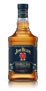 Jim Beam Double Oak Kentucky Straight Whiskey, 70 cl £18 (Prime) £21.99 (Non-Prime) @ Amazon