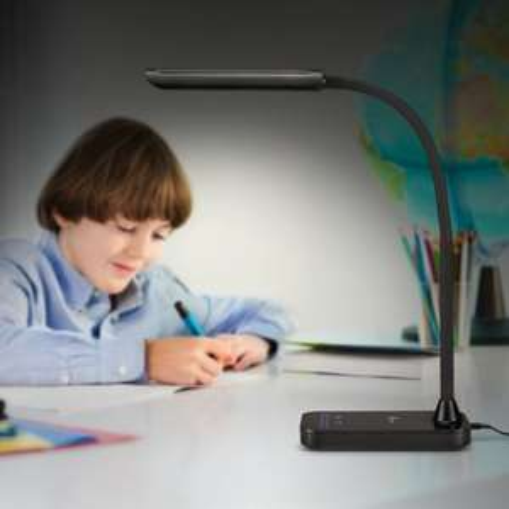 TaoTronics LED Desk Lamp,  5 Lighting Modes with 7 Brightness Levels £16.99 Delivered (£21.48 non prme) via Sunvalleytek-UK / Fulfilled by Amazon.