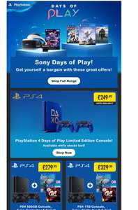 Smyth's store - *Various PS4 Deals*