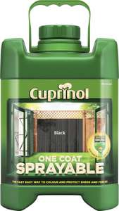 Cuprinol One Coat Sprayable Fence Treatment - 4 colours available £9  Free click and collect at Dulux Decorator Centre