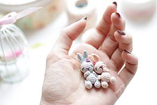 Crochet Tiny Bunny Rabbit Free Pattern on Ravelry