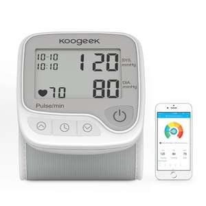 Koogeek Smart Wrist Blood Pressure Monitor £12.99 w/promo Prime / £17.48 Non Prime @ Amazon - Sold by HOME-Victory and Fulfilled by Amazon
