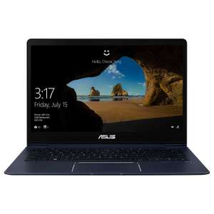 Asus ZenBook 13 Laptop /  i5-8250U / 8GB RAM / 256GB SSD / GeForce MX150 £899.95 @ John Lewis