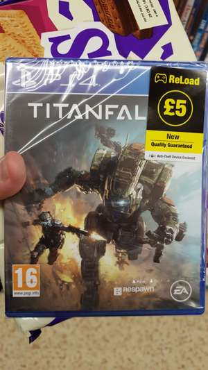 Titanfall 2 ps4 and xbox one £5 poundland