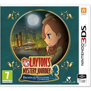 Layton's Mystery Journey: Katrielle and the Millionaires' Conspiracy (3DS) £10 @ Smyths