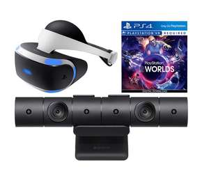 Sony PlayStation VR Headset Starter Bundle with Camera and VR Worlds £199.00 @AO.COM