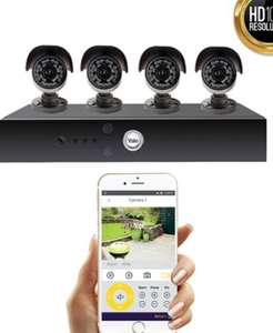 Smart HD1080 CCTV System - 4 Camera @ homebase in store only - £198.50