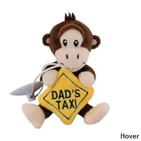 Dad's Taxi Buddy Mini Plush with Window Sucker only £2 @ Asda