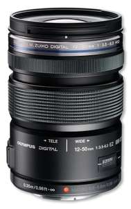 Olympus M.Zuiko Digital ED 12-50mm 1:3.5-6.3 EZ Lens - Black £159 from amazon - Dispatched and sold by SRS Microsystems