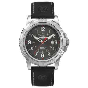 Timex Expedition T49988 43mm stainless steel Indiglo £22.99 Sold by tictocwatches and Fulfilled by Amazon.