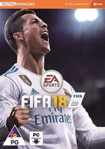 FIFA 18 PC/WINDOWS ORIGIN DOWNLOAD (WITH WORLD CUP UPDATE) £13.74