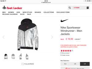 8bff1223a8 Men s Nike windrunner jacket £19.99   FootLocker - Foot Locker ...