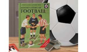 Personalised Ladybird Football Book £5.99 + £3.99 Delivery @ Groupon (sold by IJustLoveIt )