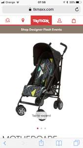 Various mother care strollers buggy's £14.99 to £24.99 at TKMaxx £1.99 C&C (free over £50) £3.99 delivery