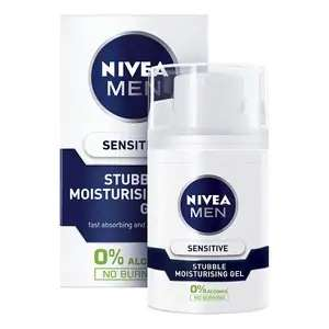 Nivea Men Sensitive Stubble Moisturising Gel 50ml 90p + Free Click & Collect @ Superdrug
