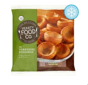 Yorkshire Pudding Pack x 15 only 50p at Tesco