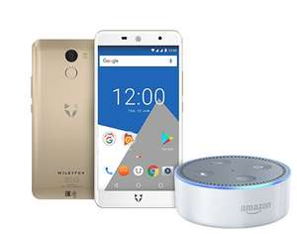 Wileyfox Swift 2 X - Gold & Amazon Echo Dot (2nd Generation) - White - (Exclusive to Amazon) £138.99 @ Amazon