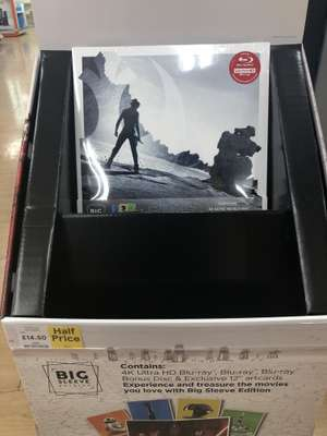 Star Wars VIII The last Jedi 4K big sleeve edition was £29 now £14.50 @ Tesco in-store - Telford
