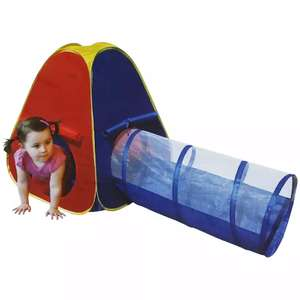 Pop Up Play Tent With Tunnel £15 Free c & c @ The Works