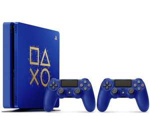 PS4 500GB Days of Play Console - Blue with either Fallout 4 or DOOM Free Game - £249.99 at Argos