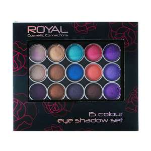 ROYAL COSMETIC CONNECTIONS 15 COLOUR EYE SHADOW SET £3.98 Delivered @ Fragrance direct