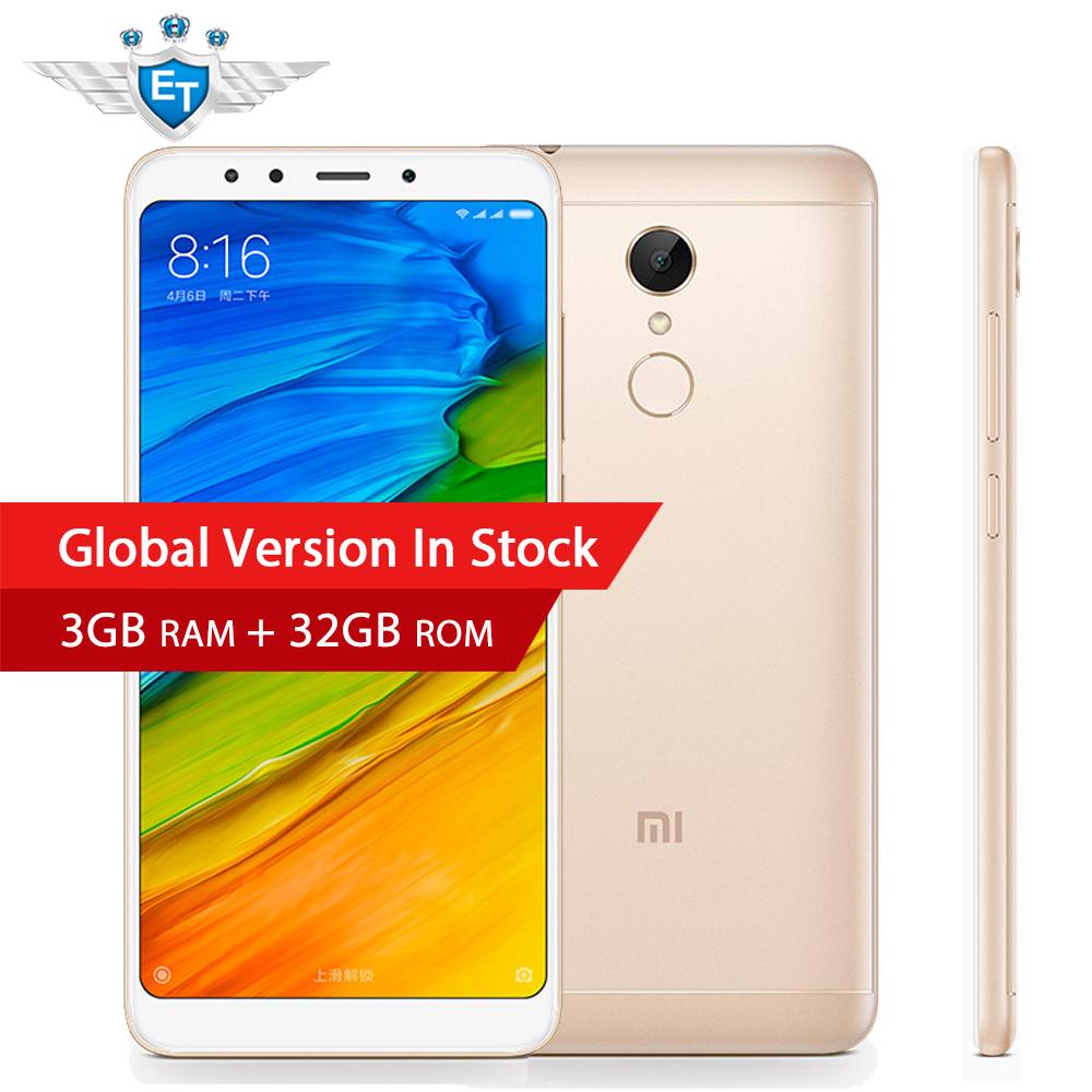 Xiaomi Redmi 5 5.7'' 3GB RAM 32GB Global Version LTE 4G Snapdragon 450  @ eternal team / Aliexpress