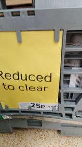 Eggs reduced to clear 25p in Tesco - Buttershaw