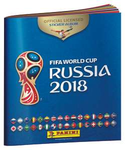 Free 2018 Panini World Cup sticker book instore @ CoOp