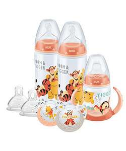 NUK Disney winnie the pooh bottle, cup and soother set £10 free C&C @ Mothercare