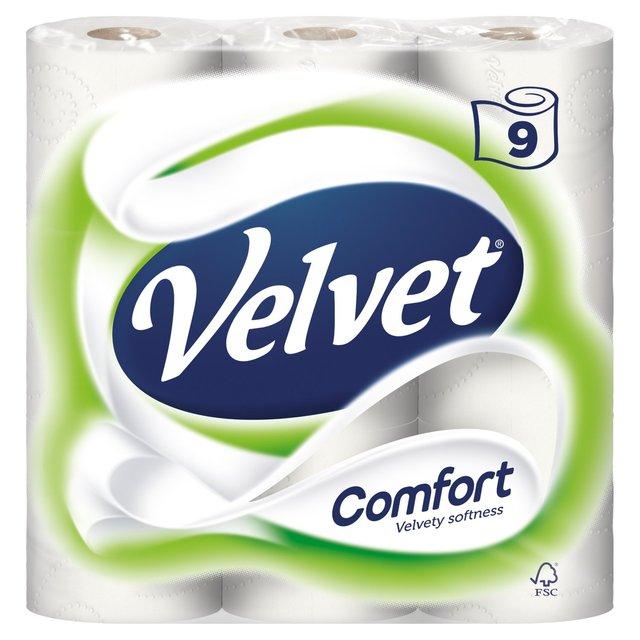 Velvet comfort 9 pack £2.50 @ Morrisons