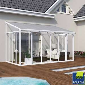 Palram Sanremo Lean To Conservatory, White at Costco for £2899.99