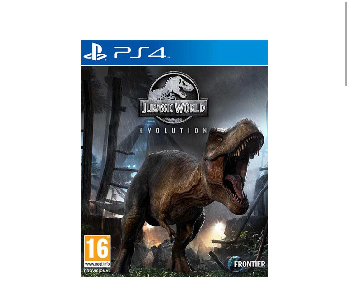 Jurassic World Evolution + Pre-Order Bonus (PS4/XB1) @ Simply Games for £39.85