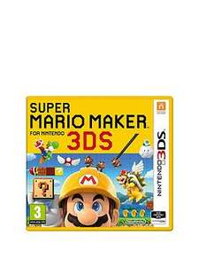 Super Mario Maker (3DS with free C&C) @ Very