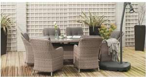 Outdoor table and chairs £399.99 / £404.95 delivered @ Brand Alley
