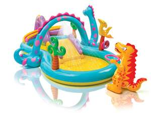 Intex Dinoland play centre  pool £29.99 delivered / Plum 8 foot trampoline £67.99 delivered more in OP @ Aldi