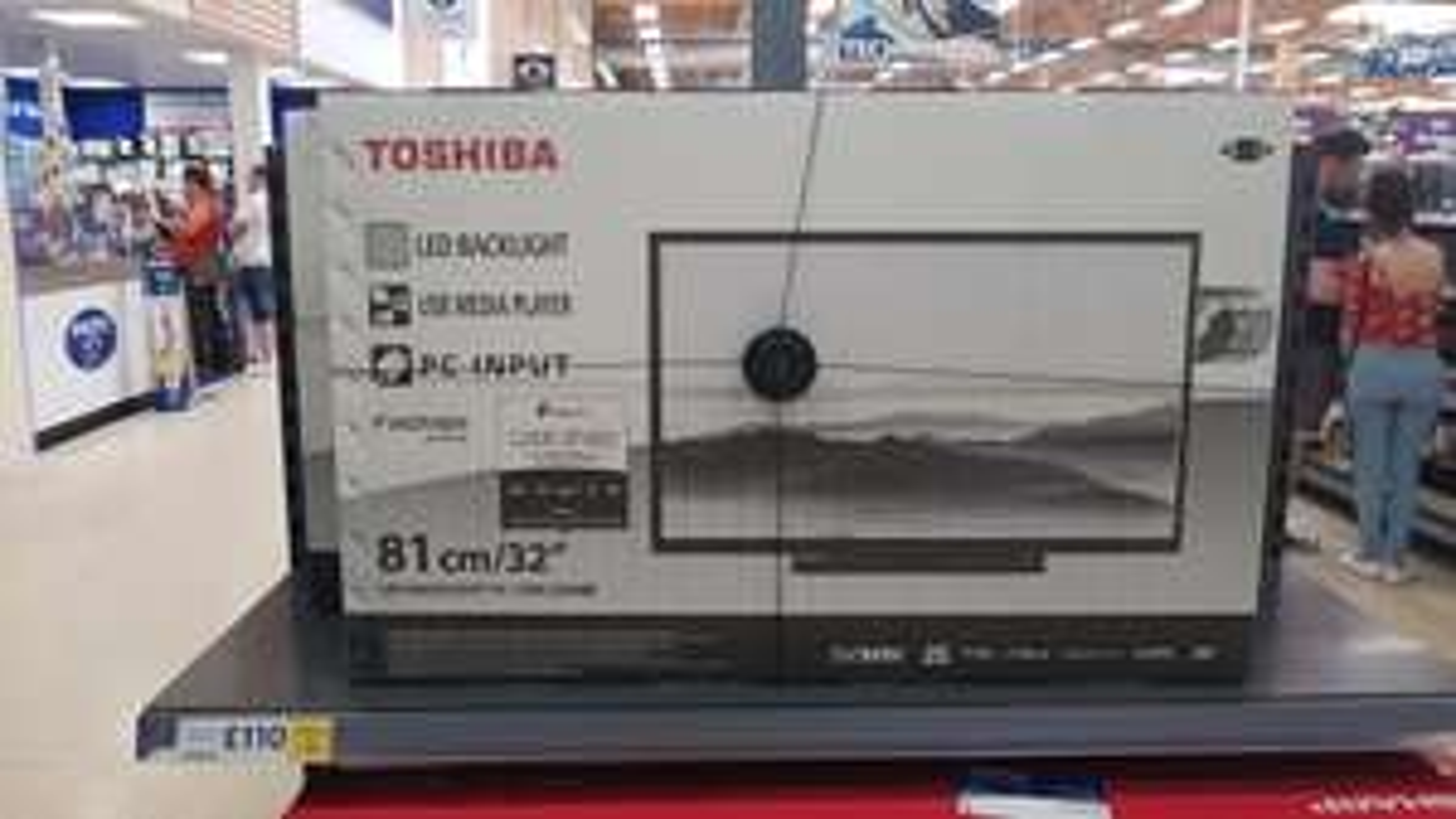 "Toshiba 32"" led tv & dvd £110 @ Tesco - Oldbury"