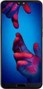Huawei P20 128GB Black 1GB Data - on Vodafone - Unlimited Mins Unlimited Texts £18 per month - £25.00 upfront cost £447 @ Mobiles.co.uk (or go through topcashback to make the total cost £417)